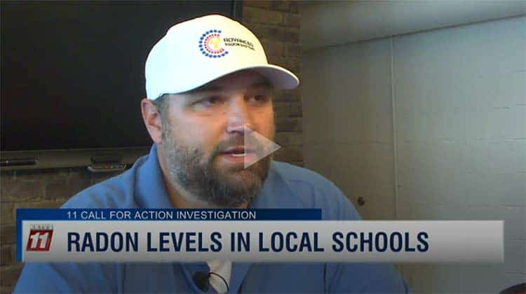 KKTV11 Radon In Schools Featuring Advanced Radon Systems